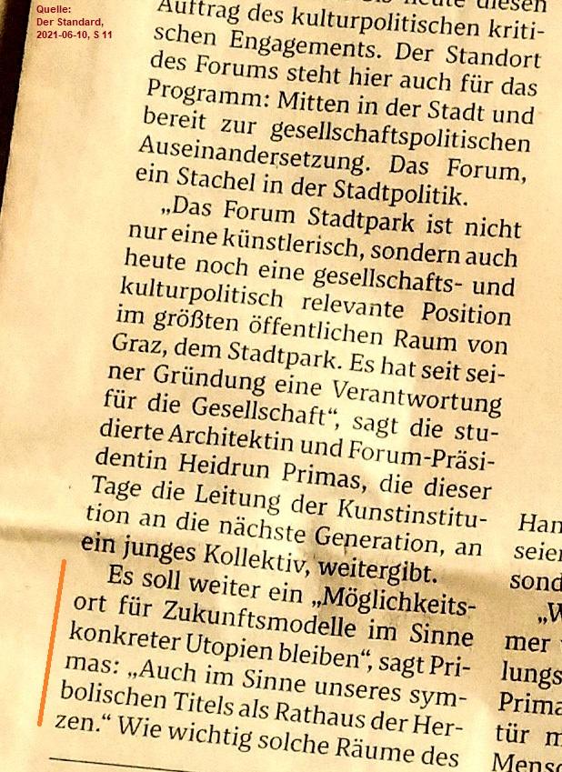 2021-06-10_standard_kunststachel-in-der-grazer-stadtpolitik_rathaus-der-herzen_moeglichkeitsort-fuer-zukunftsmodelle