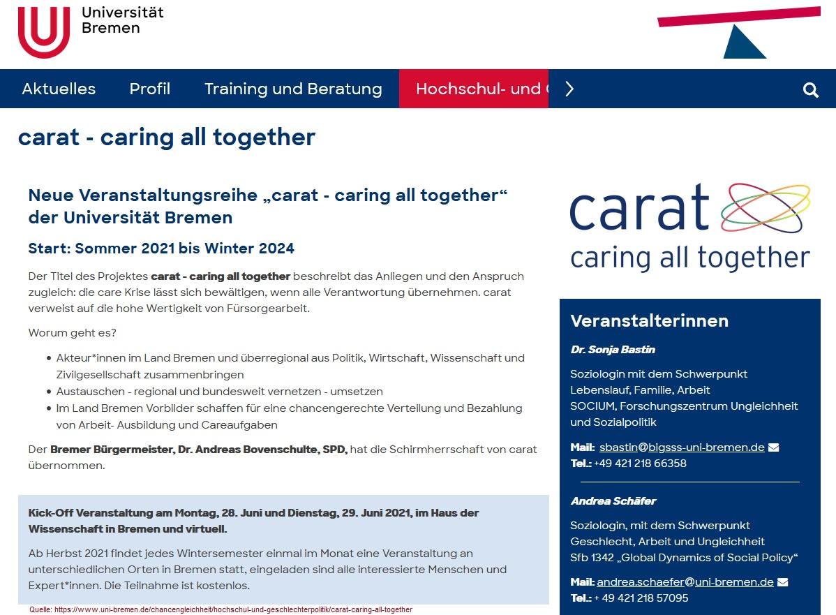 2021-06-20_Uni-Bremen_carat_caring-all-together_Sonja-Bastin_Andrea-Schaefer