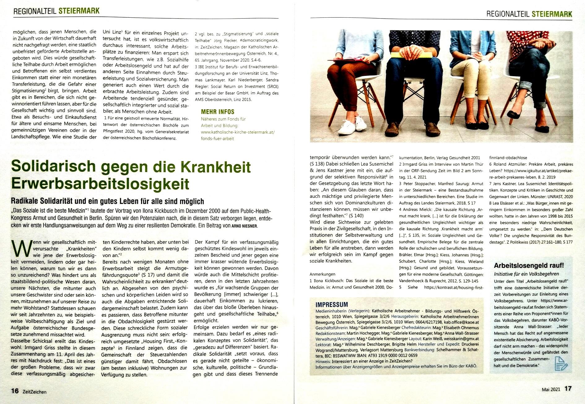 2021-06-01_ZeitZeichen_Solidarisch-gegen-die-Krankheit-Erwerbsarbeitslosigkeit